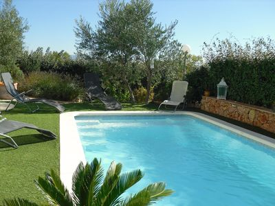 Photo for villa with heated pool and garden