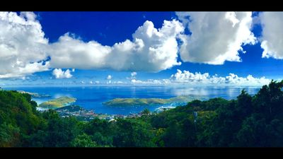 Photo for Mountain Top Home View St. Thomas Harbor