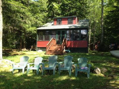 Photo for Lake Front Cottage, Family and Pet Friendly