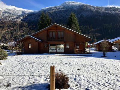 Photo for CHALET SAMOENS 10 PERS SAUNA-HAMMAM / WIFI