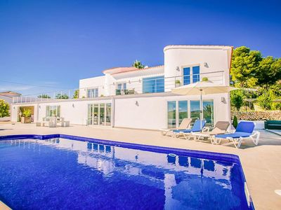 Photo for A stunning contemporary 4 bedroom villa situated in a much sought location just a short walk from a