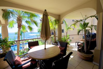 Terrace - The terrace has ocean view and is furnished.