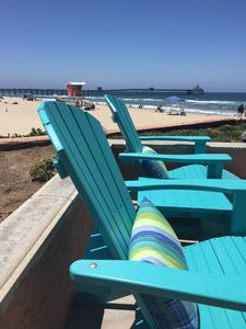 """Serenity by the Sea~So SD~""""Imperial Beach Chic""""~Lux  Oceanfront 3Bd Condo w/Pool"""