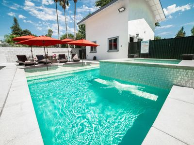 Photo for Grand Resort Style Property w/3 homes+pool&spa!