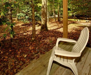 Photo for Cabin by the Creek - 1 Bedrooms, 1.5 Baths, Sleeps 4