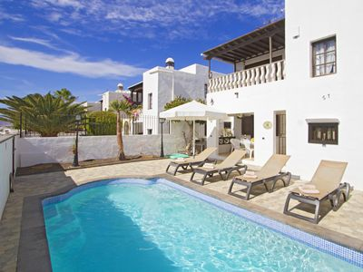 Photo for 3 Bed Villa, Private Heated Pool Central Puerto Del Carmen, Fantastic Locatio