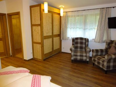 Photo for Double room with couch, shower and toilet (No. 6) - Tannenhof, Pension