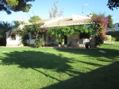 Photo for Villa Lola Jávea, cozy villa with garden and pool for 6 people