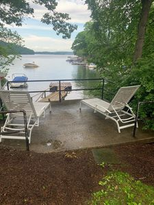 Photo for Candlewood Lake Waterfront with Dock, in Snug Harbor. House with 4 bed 3 BA