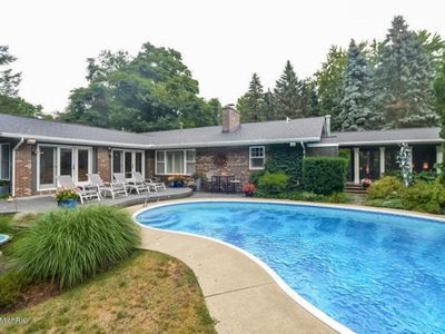 Photo for Private pool Retreat, walk or bike to beaches and villages