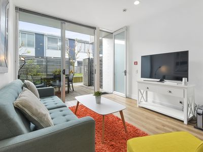 Photo for Quiet Secluded Garden Apartment + Free Carpark
