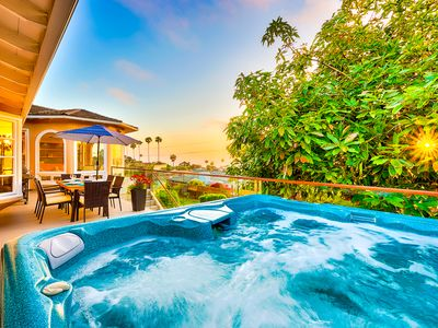 Photo for 25% OFF SEP - Secluded Home w/ hot tub, ocean views, pool table & more!
