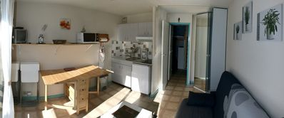 Photo for Studio 2 to 5 persons slopes pla d'adet Saint-Lary Soulan