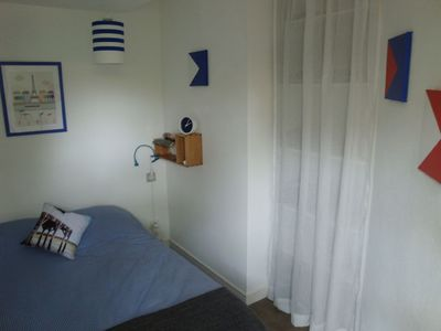 Photo for Splendid apartment with enclosed garden, shaded terrace 250 m beach