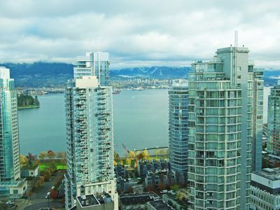 Photo for Large Condo in Downtown Vancouver with Harbour Views