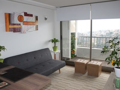 Photo for Cozy New apartment in Valparaíso, with Netflix and Parking