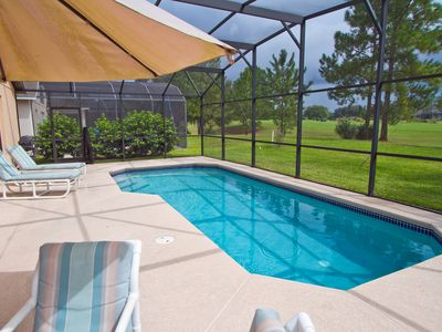 South facing Holiday villa located near Disney overlooking golf course