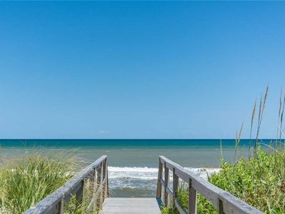 Photo for Serenity: Oceanfront in Sanderling, 4 bedrooms, community pool and tennis courts.