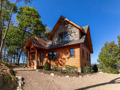 Photo for Evergreen at Eagles Nest - NEW CONSTRUCTION! Stunning views, hot tub, firepit!