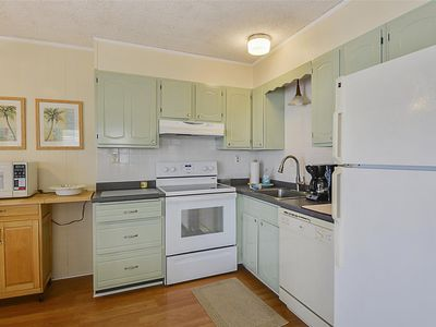Photo for FREE DAILY ACTIVITIES!!! LINENS INCLUDED*!  Adorable , Beach decor condo!!! freshly painted and the ocean is just steps away. 2 br/ 1.5 bath condo on beach rd. 129th and ocean. Glimpse of the ocean from the 2nd flr. porch