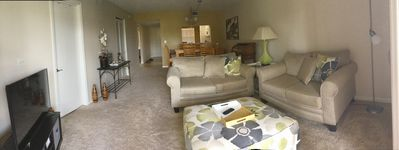 Photo for Beautiful 2 bdr, 2 bath water view condo on Golf & Country Club