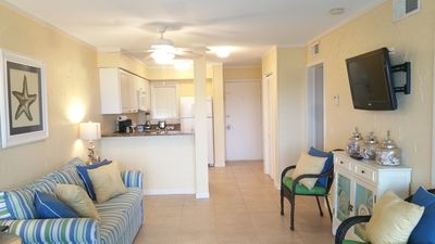 Photo for Ocean Front Complex - Condo Has Balcony With Lagoon View - Free WiFi - 3 Pools