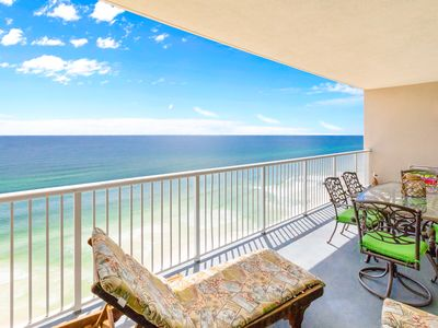 Photo for Gulf Front☀Beachside Pool☀2Step Sanitizing Process☀2BR+Bunkroom Palazzo 806