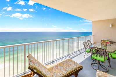 Relax, dine or entertain on the balcony