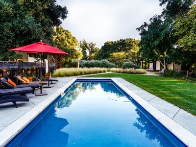 Photo for Contemporary, Wine Country Home on 8 acres, surrounded by Vineyards