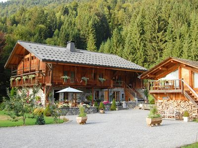 Photo for 4-7 person, 3 bedroom, large, rural  Alpine apartment
