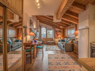 Photo for Cosy studio close to the center of Courchevel 1850