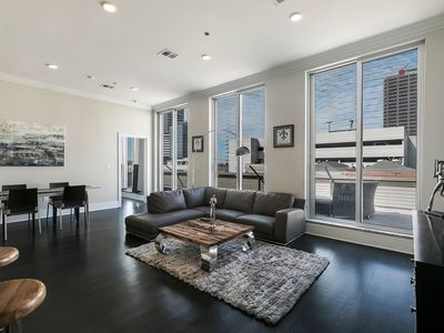 Photo for Luxury 3 BR Penthouse with balcony in Downtown NOLA