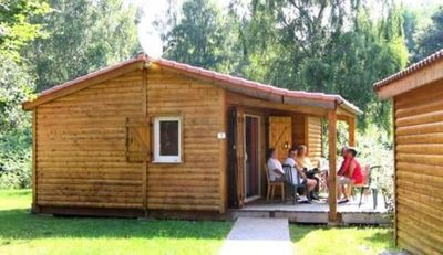 Photo for Camping Les Chanterelles *** - 3-room PMR chalet 4/6 people