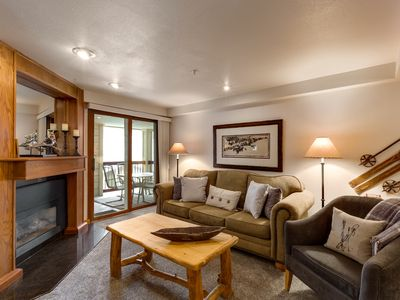 Photo for PREMIER 1 BEDROOM WITH BEAUTIFUL WALK IN SHOWER- GREAT VIEWS OF THE SLOPES