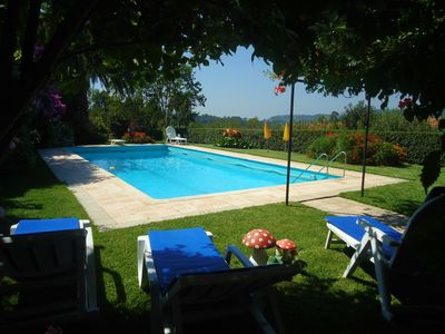 Photo for house in the countryside with pool and garden