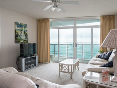 Photo for Beautiful Crescent Beach views from this 2 bedroom condo! | Crescent Keyes -  809