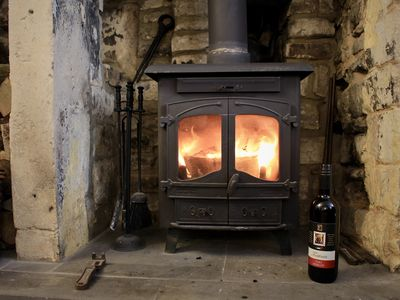 Photo for Romantic one bedroom cottage, packed full of original features with log burner.