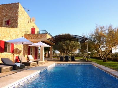 Photo for Finca for 8 pers.  in a rural idyll and close to Es Trenc beach