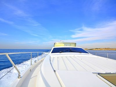 Photo for Ferretti Yacht 19m, a Luxury Accommodation with Astypalea VIP Yachting