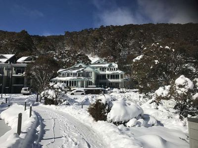 Photo for Aspect 2A - Split level 3 bedroom apartment on the Village Green of Thredbo