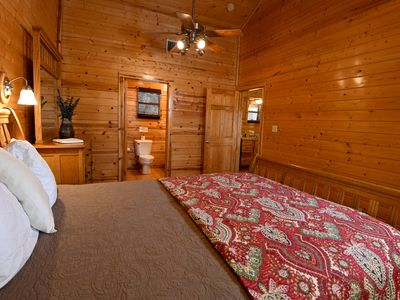 Photo for Cozy lodge at Frio Springs Lodges with views