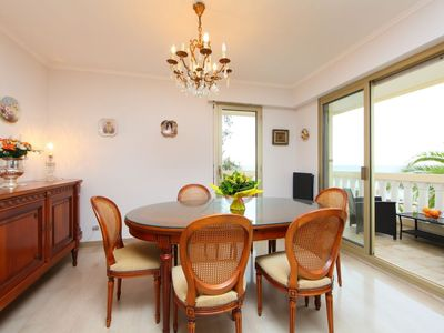 Photo for Apartment 1.2 km from the center of Cannes with Lift, Parking, Internet, Washing machine (634979)