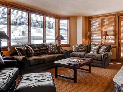 Photo for Gorgeous Slopeside Condo w/Ample Space & Balcony!