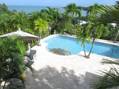 Photo for Superb T2 with pool and sea view