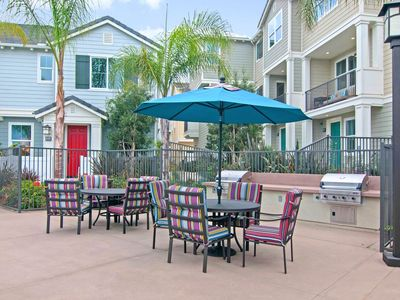 Grill Area - A shared grill area invites cookouts and alfresco meals.