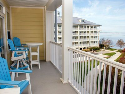 Photo for Beautiful Bayfront Condo - Sunset Island Resort - Pools, Fitness, Private Beach