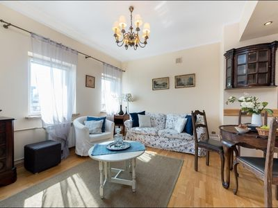 Photo for Apartment 86 m from the center of Warsaw with Internet, Lift, Washing machine (407102)