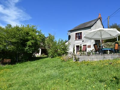 Photo for Detached holiday home on a hill with a phenomenal view of the Morvan