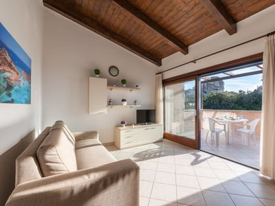 Photo for Apartment 232 m from the center of Costa Paradiso with Internet, Pool, Air conditioning, Parking (329450)