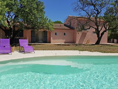 Photo for Child-friendly villa near the sea, with private swimming pool and enclosed garden with playground